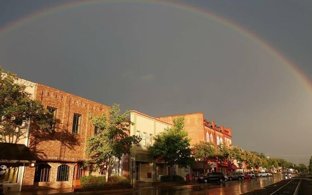 City of Commerce Rainbow