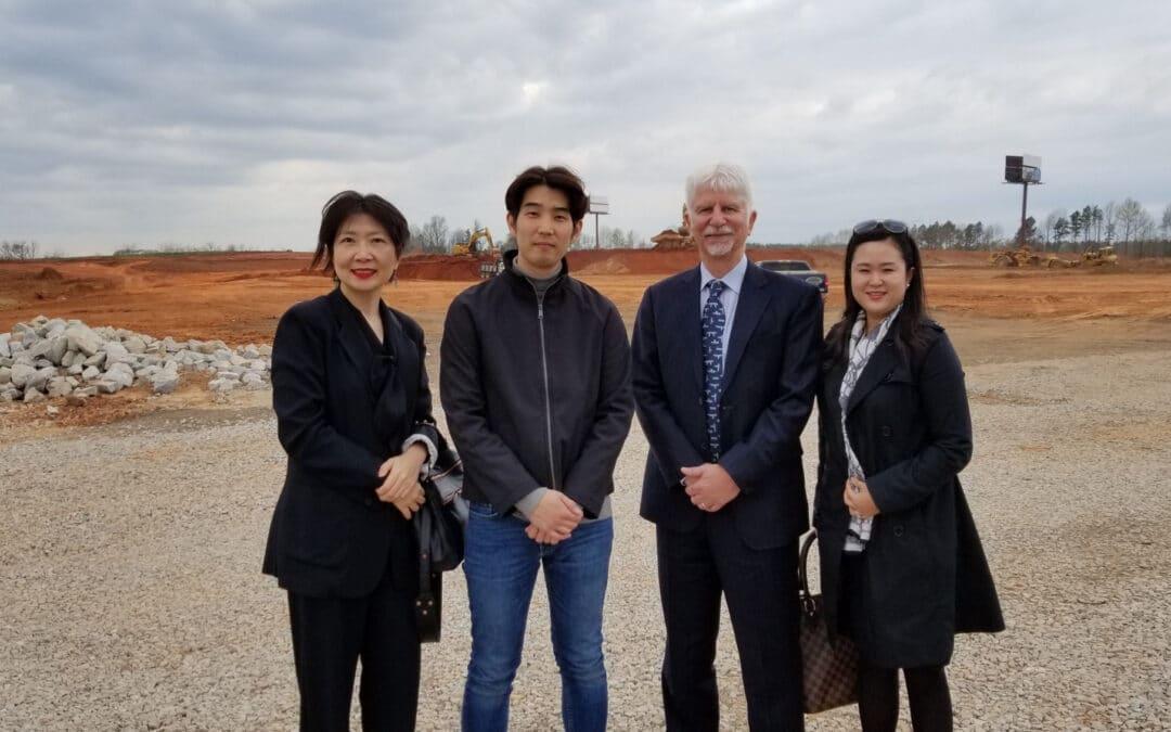 Georgia's Korean International Reps Visit SK Battery America Construction Site