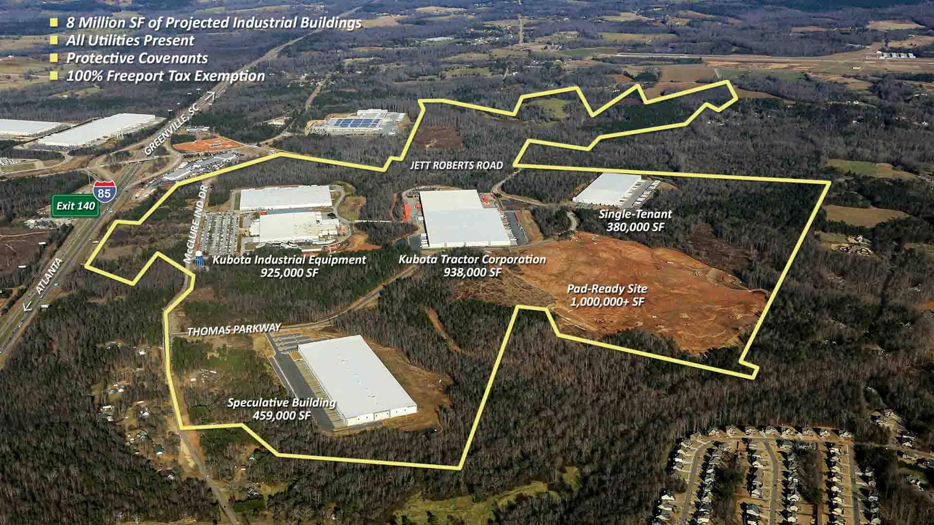 McClure Industrial Park - Jackson County