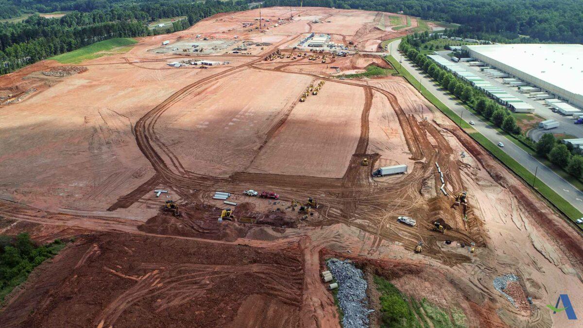 SK Battery America Construction Site Commerce GA