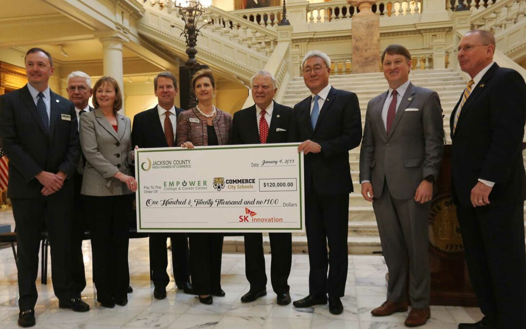 SK Innovation Makes Donation to Education in Jackson County