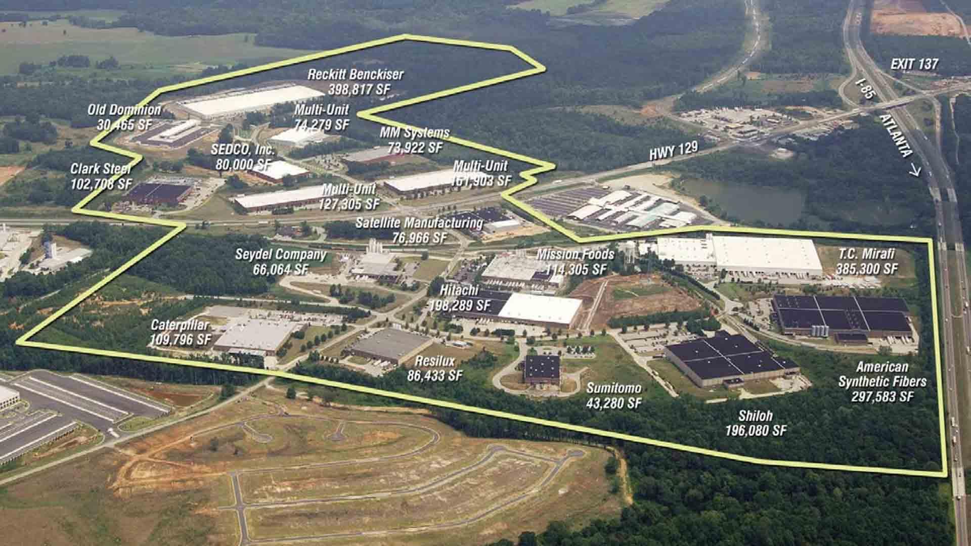 Walnut Fork Industrial Park - Jackson County